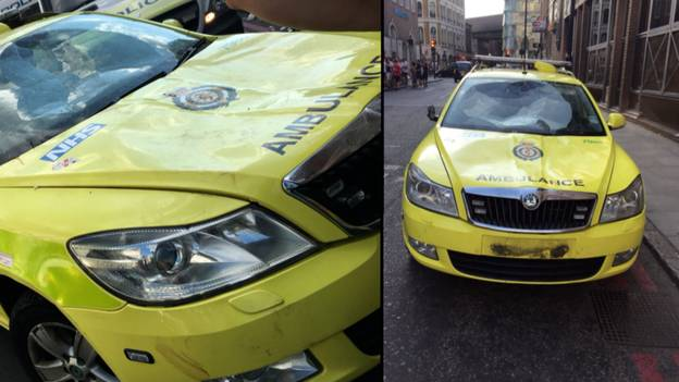 Millwall Fans Raise £9,000 To Fix Damaged London Ambulance Service Car