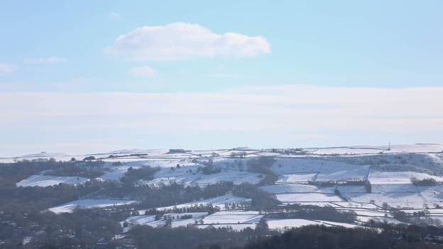 Snow And Cold Weather Forecast For The UK On Easter Monday