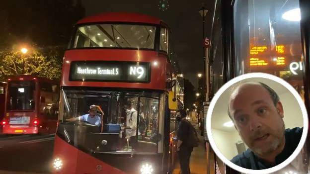Man Takes Epic Journey To See How Far From London He Could Get By Bus In One Day