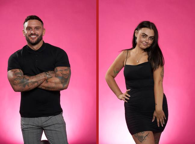 Danny will meet Lauren when he returns to First Dates on 2 February. Credit: Channel 4