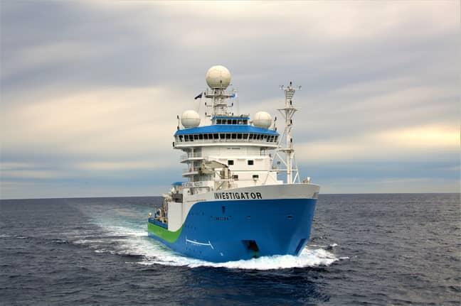 CSIRO's Investigator research vessel. Credit: CSIRO