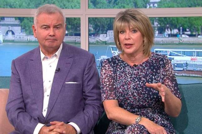 Eamonn and Ruth had some questions for the American doctor. Credit: This Morning/ITV