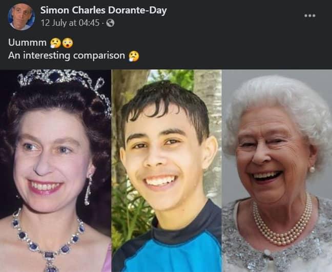 Credit: Facebook/Simon Dorante-Day