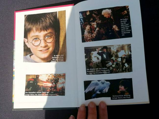 The book is the 'holy grail' for collectors. Credit: SWNS