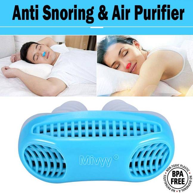 Would you even sleep with that up your nose? Credit: Amazon
