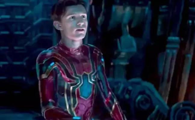 Tom Holland as Spider-Man. Credit: Sony