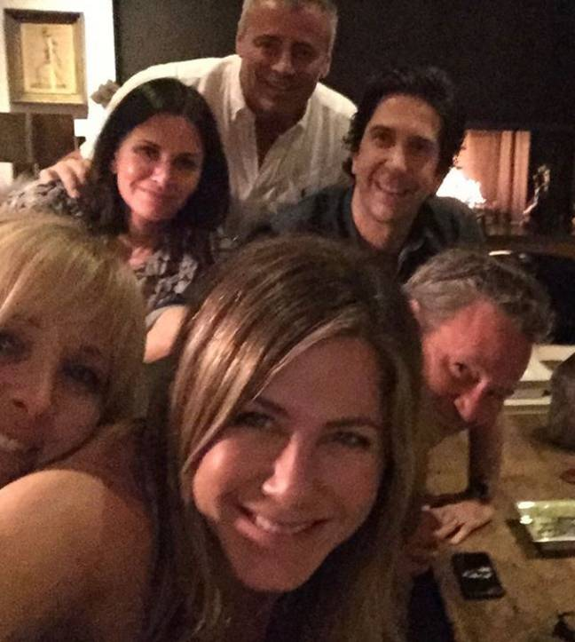 Aniston's debut post on Instagram. Credit: Instagram/Jennifer Aniston