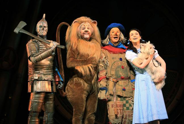The Wizard of Oz, at the London Palladium in central London. Image: PA