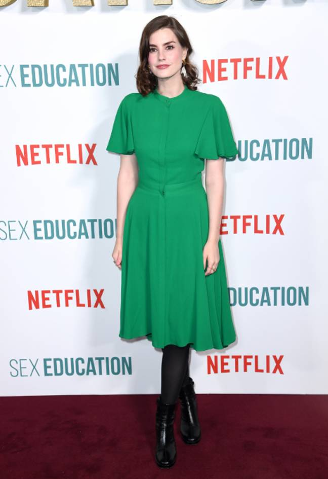 Sex Education writer Laurie Nunn. Credit: PA