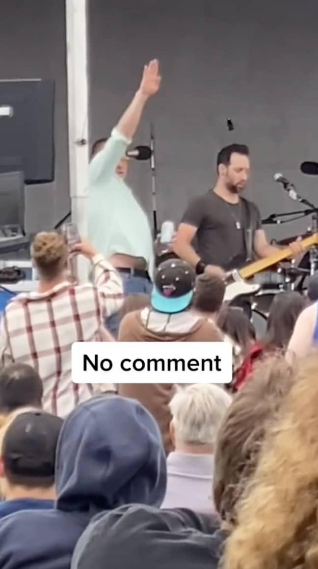 Smash Mouth lead singer Steve Harwell. Credit: TikTok/doesthisfeelgood