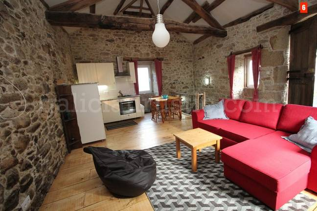 Your own lovely hamlet, with a great living area to boot. Credit: Galician Country Homes