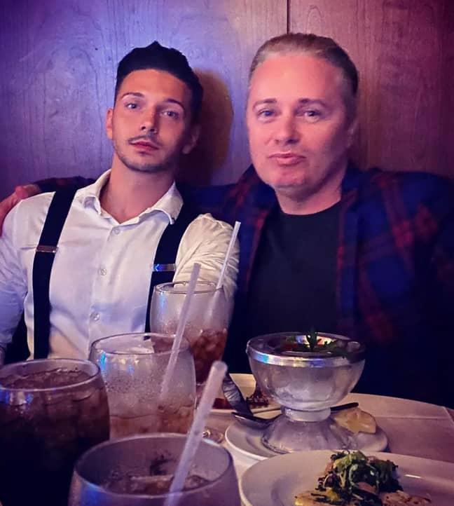 Barrie and Scott. Credit: Instagram/@donbarrie