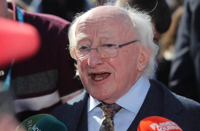 Higgins in 2019. Credit: PA