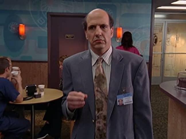 Sam Lloyd as Ted Buckland in Scrubs. Credit: NBC