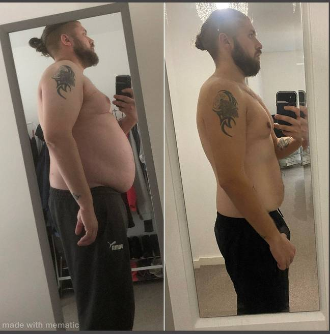 David Cooke used lockdown as a springboard for his own fitness journey. Credit: Supplied