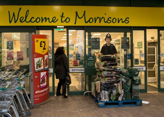 Morrisons is offering a 10 percent discount for people working in 30 different jobs. Credit: PA