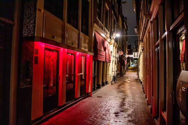 Plans have been submitted to create an 'erotic centre' outside Amsterdam. Credit: PA