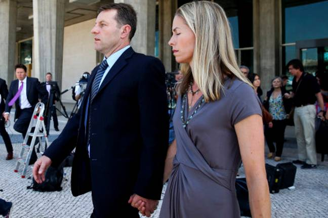 Gerry and Kate McCann, the parents of Madeleine McCann, after attending the libel case against former Portuguese police chief Goncalo Amaral. Credit: PA