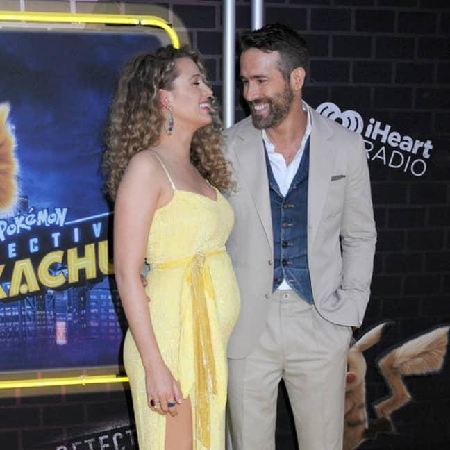 Ryan Reynolds and Blake Lively at premiere of Pokémon: Detective Pikachu. Credit: PA