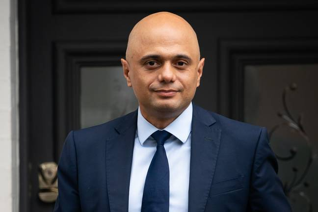 Health secretary Sajid Javid tested positive for Covid-19 yesterday. Credit: PA