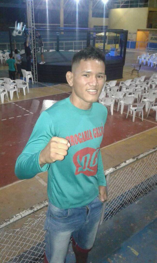 He was regarded as a promising fighter by his coaches. Credit: Facebook/Mateus Fernandes