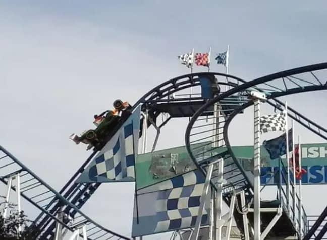 A woman tragically fell from a roller coaster in France last year. Credit: TripAdvisor
