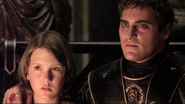 Lucius with Commodus. Credit: Dreamworks Pictures