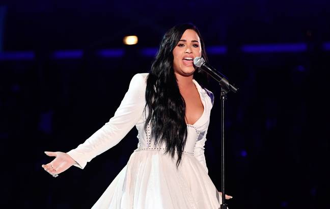 Demi Lovato wrote 'Anyone' four days before she was hospitalised following a drug overdose in 2018. Credit: PA
