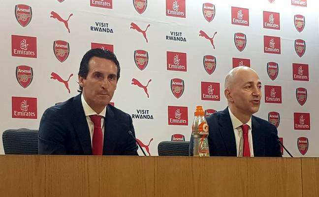 If Unai thinks he's got problems, imagine how Arsène felt when they tried to give him a nickname. Credit: PA