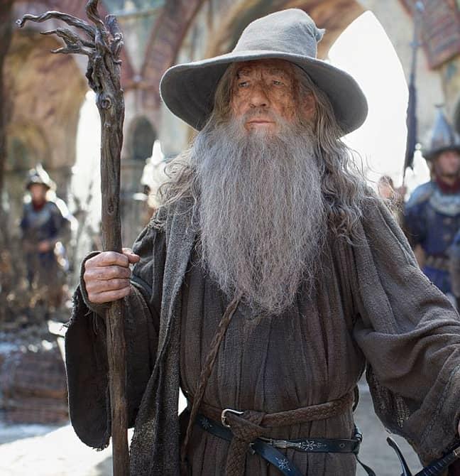 Ian McKellen as Gandalf in Lord of the Rings. Credit: New Line Cinema