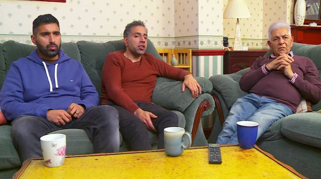 The comments were made by the Siddiqui family during last Friday's episode. Credit: Channel 4