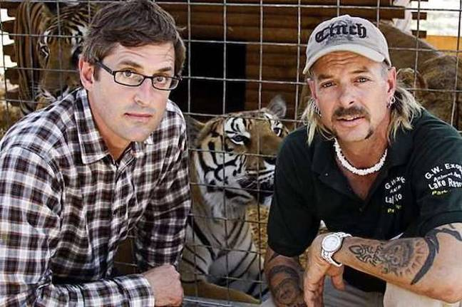 Theroux met Exotic 10 years ago, pre fame and conviction. Credit: BBC