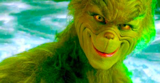Jim Carrey as The Grinch. Credit: Universal