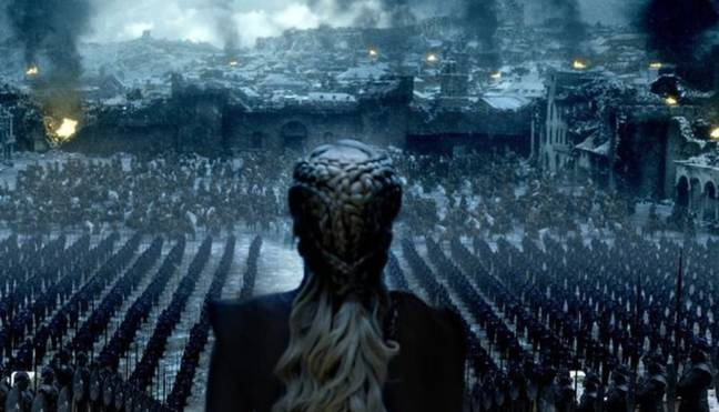 Remember what happened last time we saw a Targaryen? Credit HBO