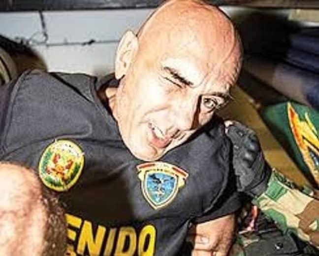Zoran Jaksic. Credit: Peruvian Police