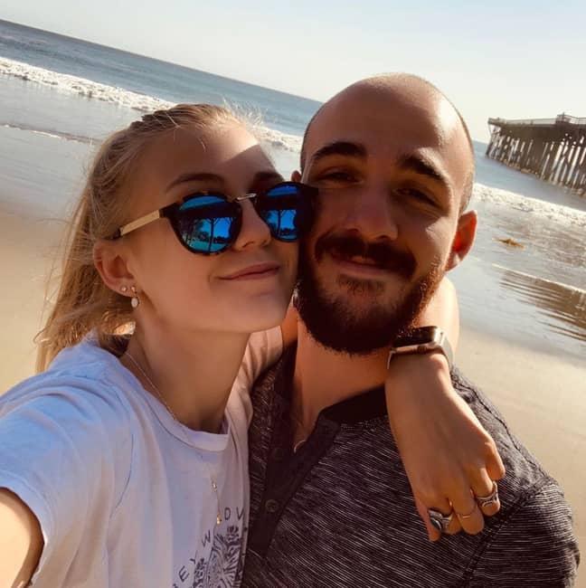 Gabby Petito and fiancé Brian Laundrie. Credit: Instagram/@gabspetito