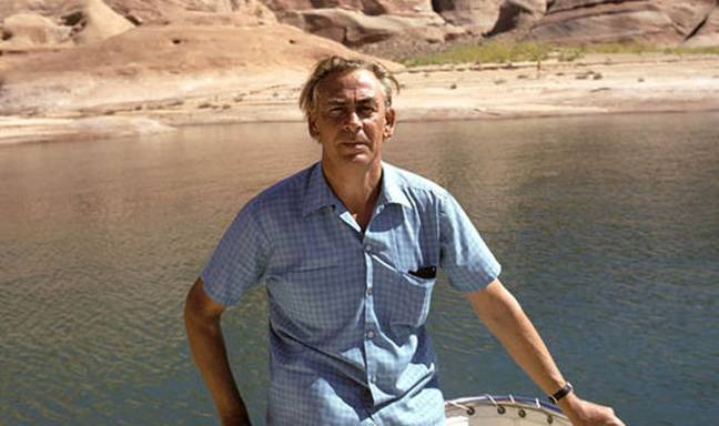 Dr George King at Lake Powell, Utah. Credit: The Aetherius Society