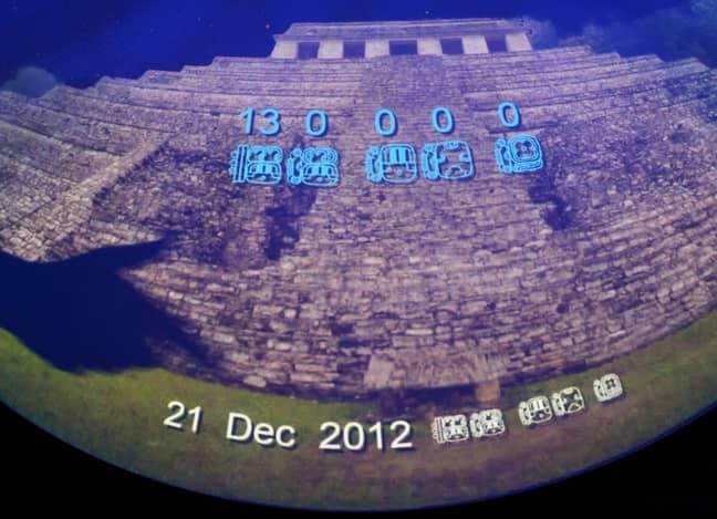 The final date of the Mayan calendar. Credit: PA