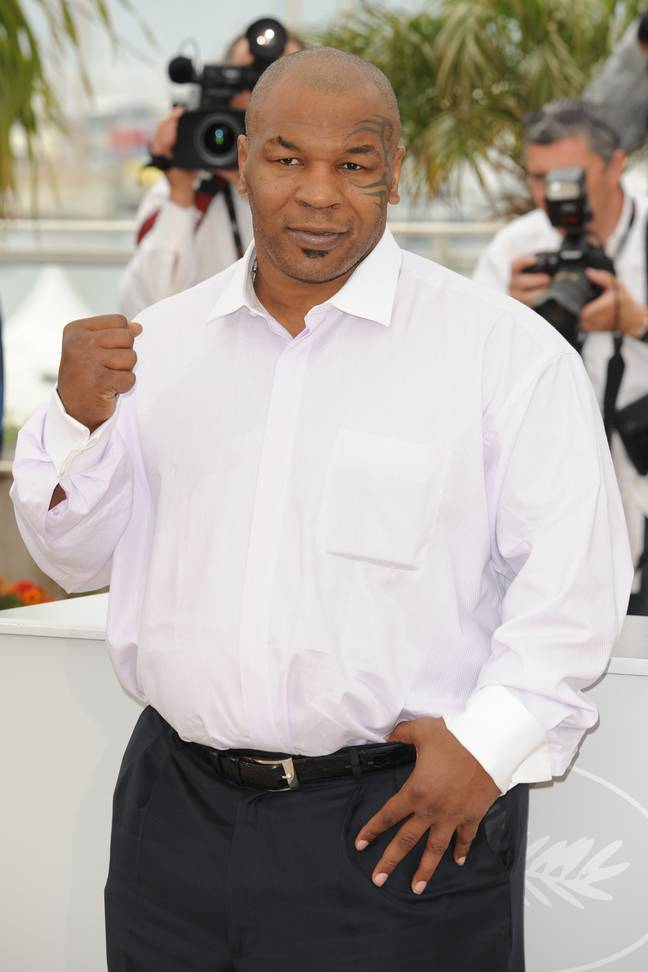 Mike Tyson in 2009. Credit: PA