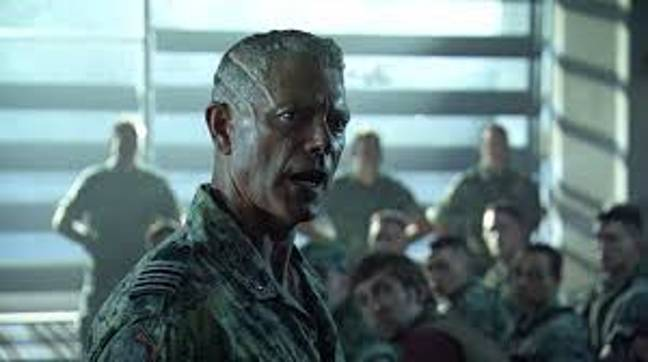 Stephen Lang as Colonel Quaritch. Credit: 20th Century Fox