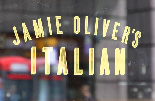 Jamie Oliver recently revealed that his restaurant empire had collapsed. Credit: PA