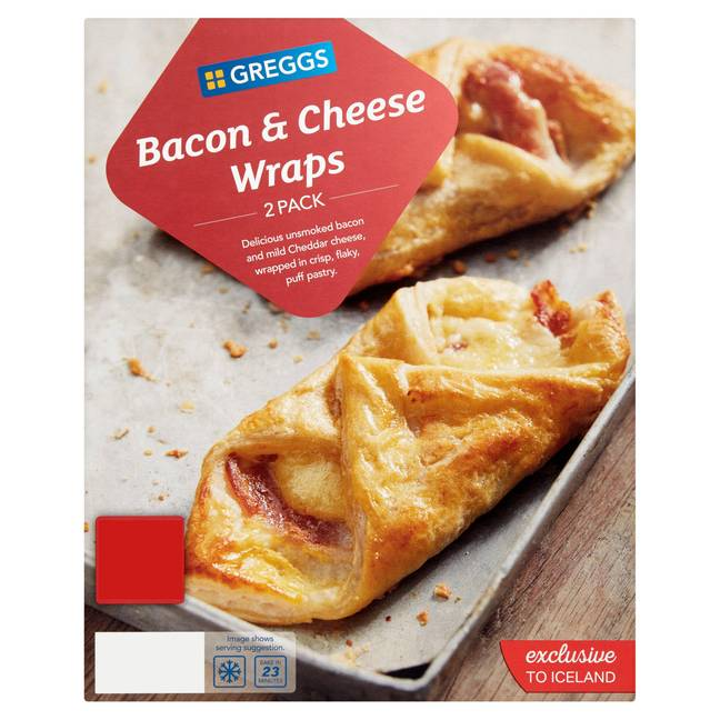 Bacon and Cheese Wrap, anyone? Credit: Greggs