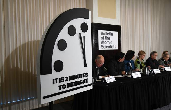 The clock in 2019. Credit: PA