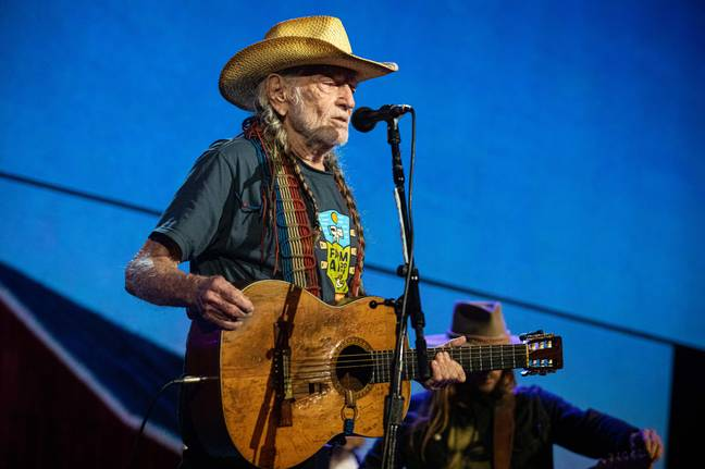 Willie Nelson. Credit: PA