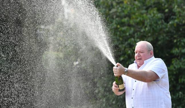 Ade Goodchild won the Euromillions jackpot. Credit: PA