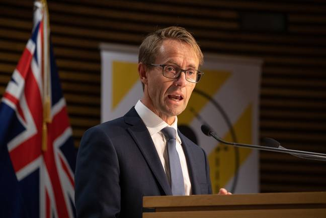 New Zealand's director-general of health Ashley Bloomfield said the figures were 'cause for celebration'. Credit: PA