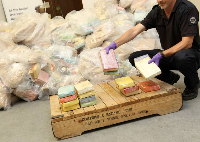 Police seized a record 12 tons of cocaine in Southampton in 2011. Credit: PA