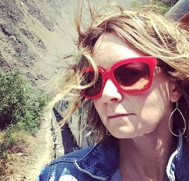 Amanda waited until she was 41 to have sex - now she's preggers. Credit: Instagram/Amanda McCracken