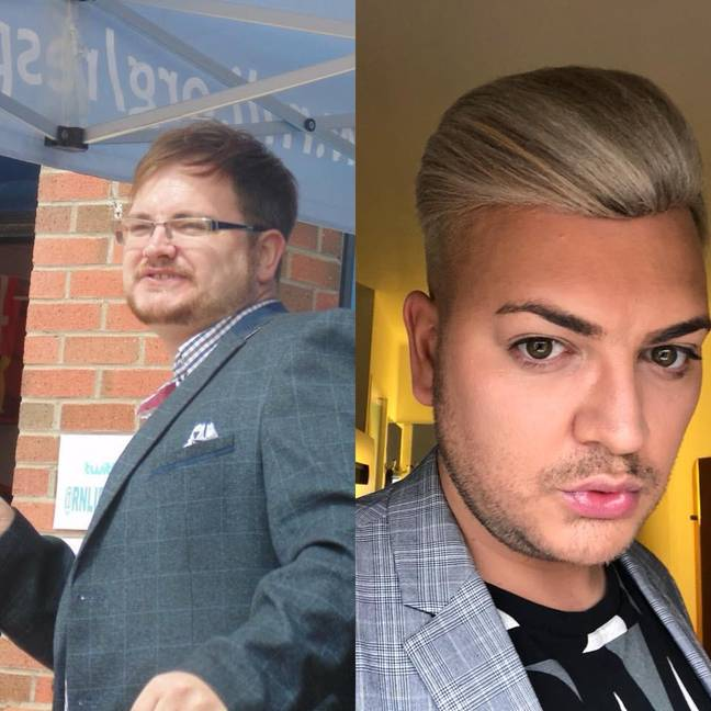 The Alan Carr lookalike wanted to have his own appearance. Credit: MEN