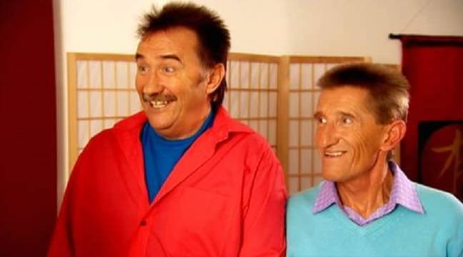 Barry and Paul Chuckle in ChuckleVision. Credit: BBC